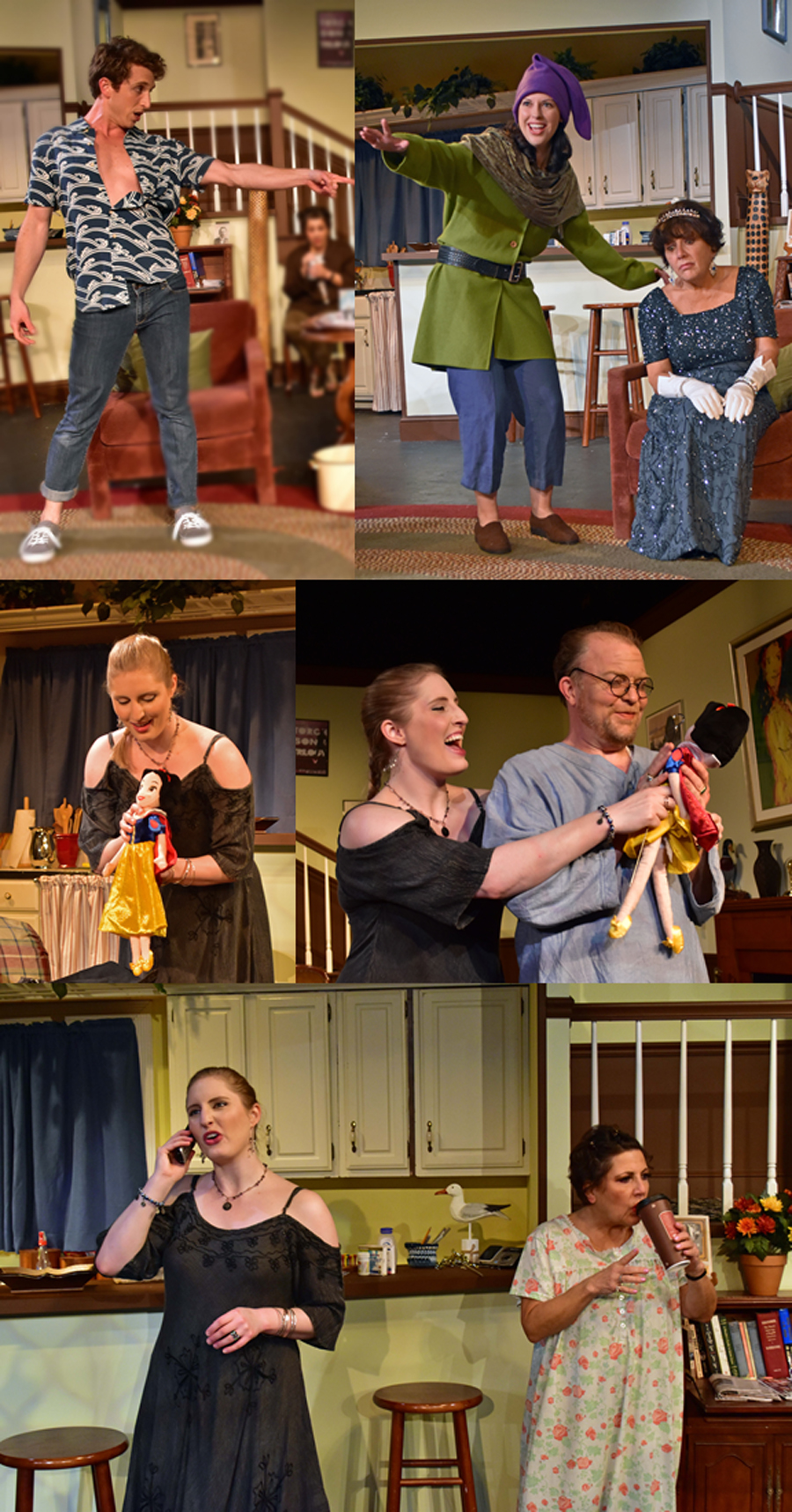 5 Montage The Providence Players Vanya Sonia Masha and Spike Photo by Chip Gertzog Providence Players