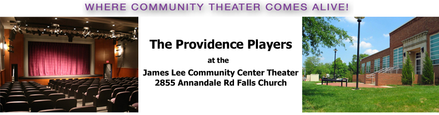 Providence Players at the James Lee Community Center Theater Logo