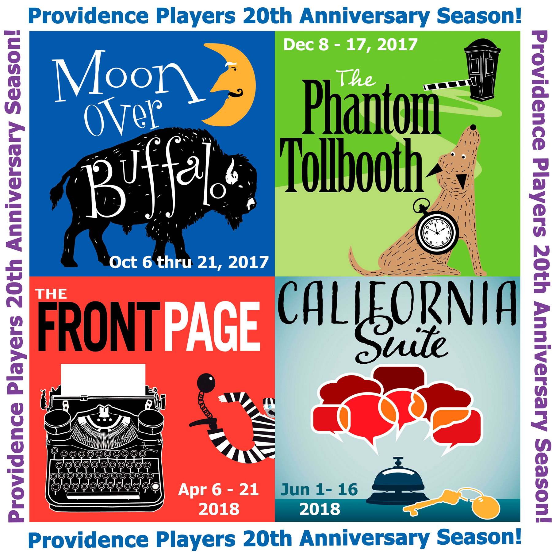 Providence Players 20th Anniversary Season
