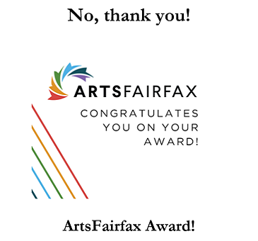 Thank you, ArtsFairfax!